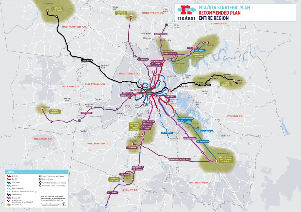 Regional Transit Recommendations